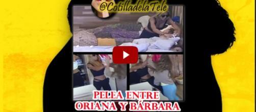 Pelea entre Oriana y Bárbara d volverias con tu ex
