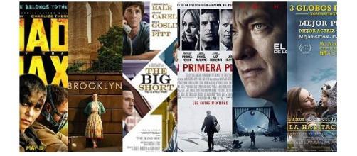 Películas nominadas en los Oscars 2016