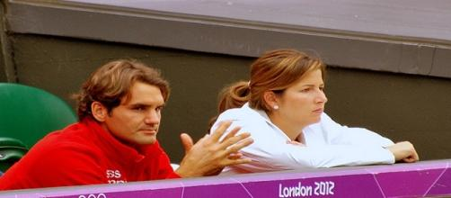 Roger & Mirka Federer/ Photo: Carine06 via Flickr