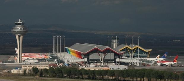 Aeropuerto Adolfo Suárez Madrid Barajas.