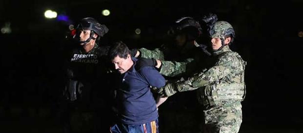 Es capturado El Chapo en los Mochis, Sinaloa