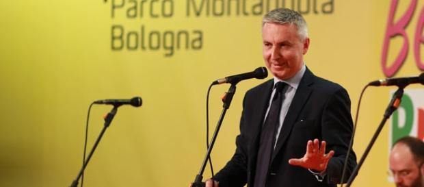 Il vicepresidente del PD, Lorenzo Guerini