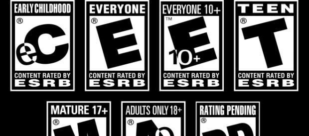 Las clasificaciones de la ESRB
