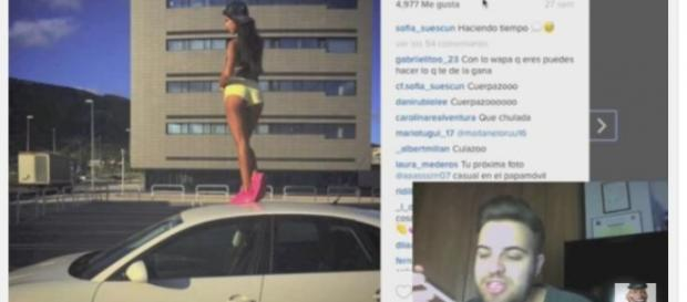 Sofía y Maite amenazan a un conocido youtuber