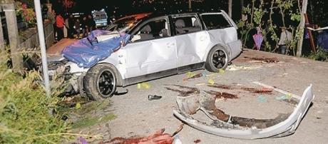 Acidente ocorreu na noite de 22 de Abril de 2011