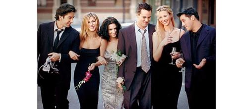 Cast of Friends Television Series
