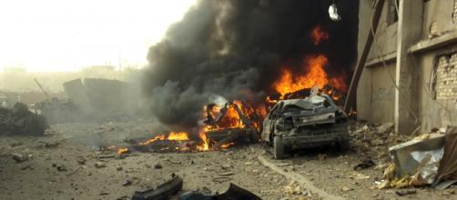 Imagen de un atentado en Irak en 2006