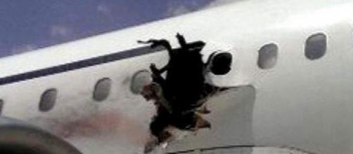 Imagen del fuselaje del avión - ABC News