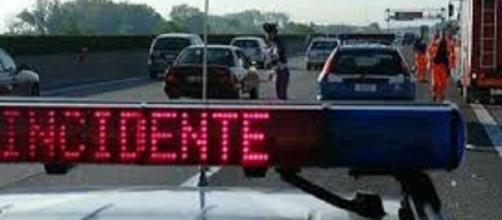 Incidente stradale sulla ss18 in Calabria