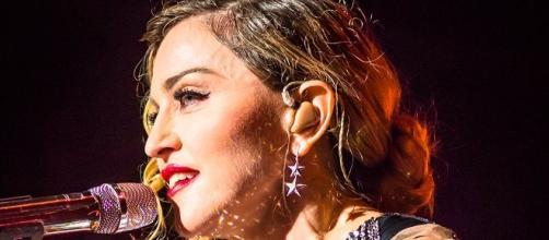Madonna durante il Rebel Heart Tour
