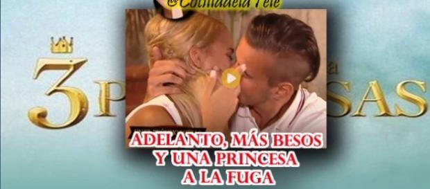 "Adelanto de ""un príncipe para 3 princesas""."