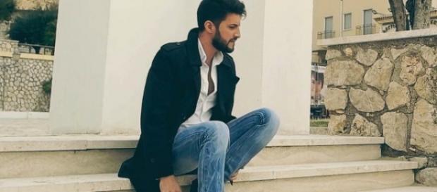 Alessio Paddeu la filmarea primului său videoclip