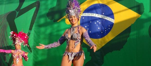 Costume di carnevale brasiliano