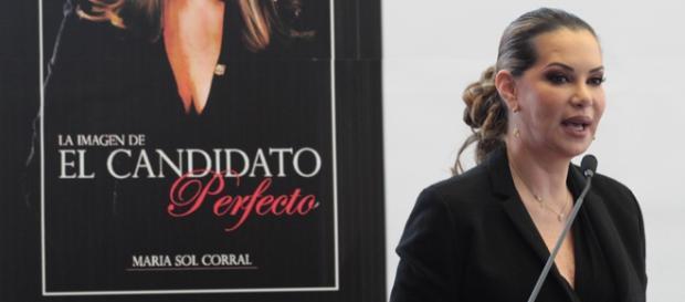María Sol Corral presentó su nuevo libro