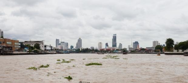 Río Chao Phraya, Bangkok (Tailandia).