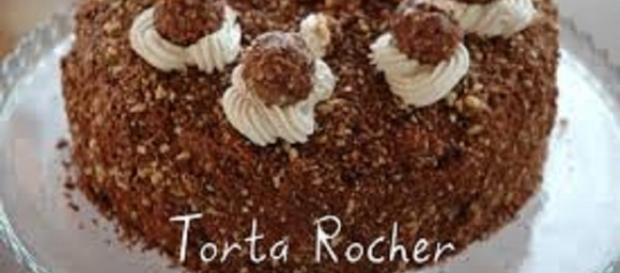 torta Rocher facile da preparare e buonissima