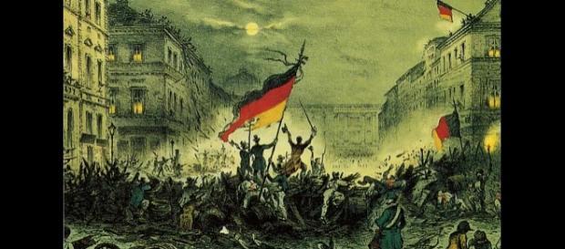 Zwycięscy rewolucjoniści Berlina, marzec 1848