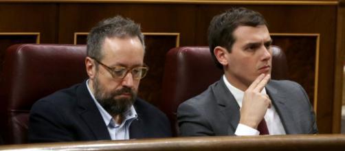 Albert Rivera y Juan Carlos Girauta (C's)