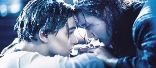 Escena final Jack y Rose en Titanic