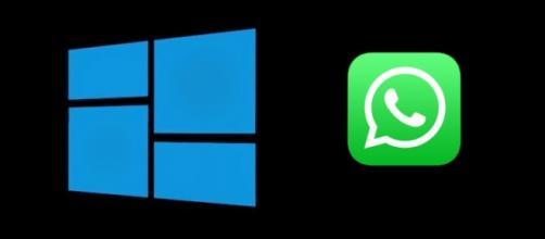 Microsoft Edge y Whatsapp Web.