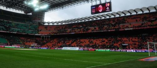 Una veduta dello Stadio San Siro di Milano