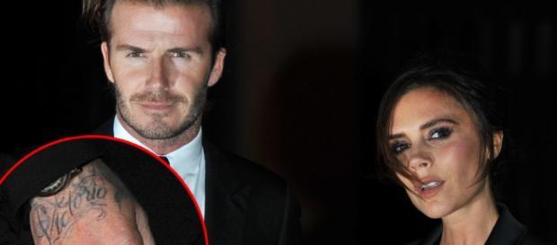 I coniugi David e Victoria Beckham