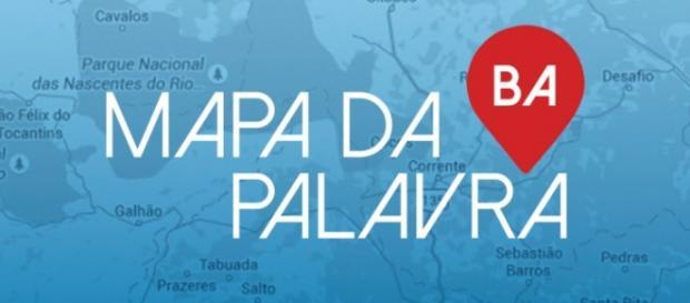 O Mapa da Palvra da Bahia. Divulgação