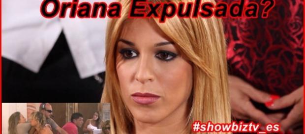 Oriana terminará expulsada? La han visto fuera!!!