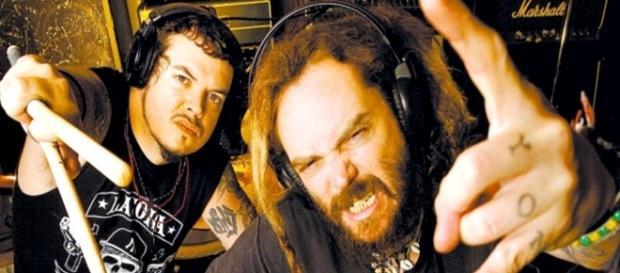 Os irmãos Iggor e Max Cavalera