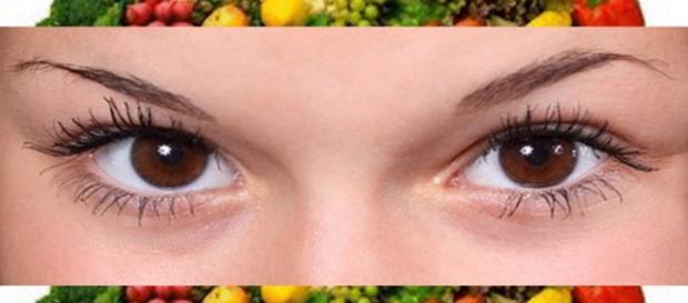 Ssaúde da visão é encontrda nos alimentos naturais