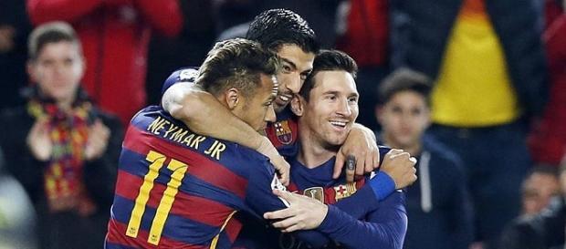 Trio MSN é responsável por 81 gols dos 106