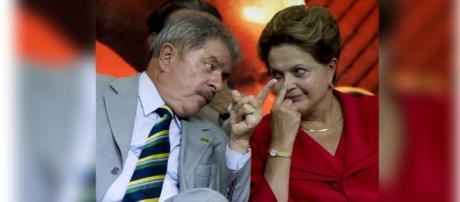 Lula não está nada satisfeito com Dilma