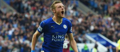 Vardy, atacante do Leicester - Fonte: Sky Sports