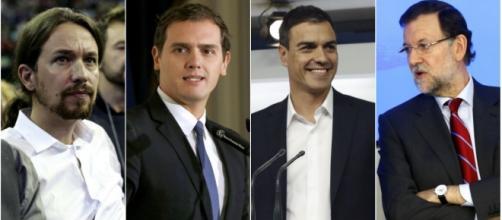 Los líderes de las formaciones más votadas