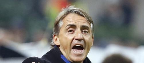 Roberto Mancini soddisfatto dei suoi.