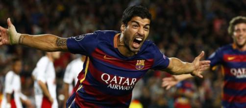 Suárez celebrando un gol / Foto: AFP