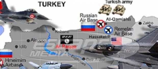 A Turquia e a Rússia guerrearão dentro da Síria