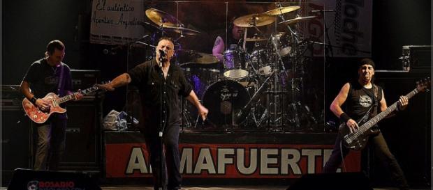 Almafuerte se presentó en el Cosquín Rock