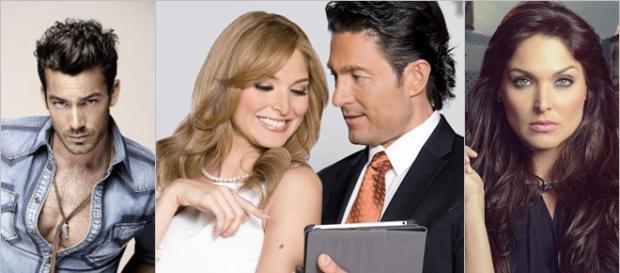 Colunga e Blanca Soto em Porque El Amor Manda.