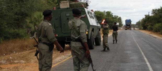 Forças de Defesa e Segurança de Moçambique.