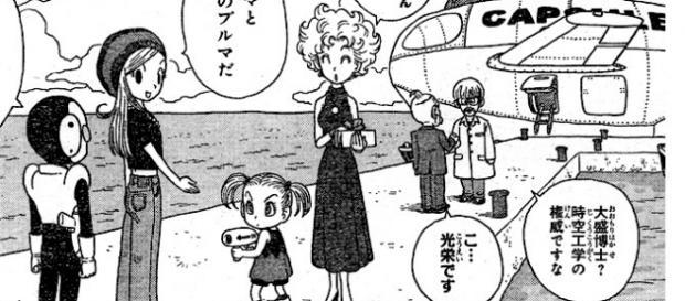 Imagen del manga Jaco el patrullero galactico