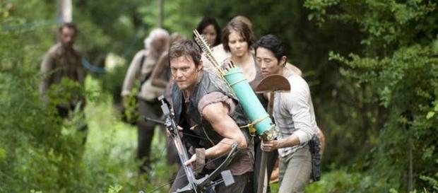 Immagine: il gruppo dello sceriffo Rick