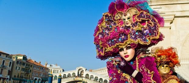 O Carnaval de Veneza é um dos mais conhecidos