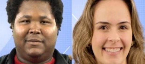 Ronan e Ana Paula - Foto/Reprodução: Globo
