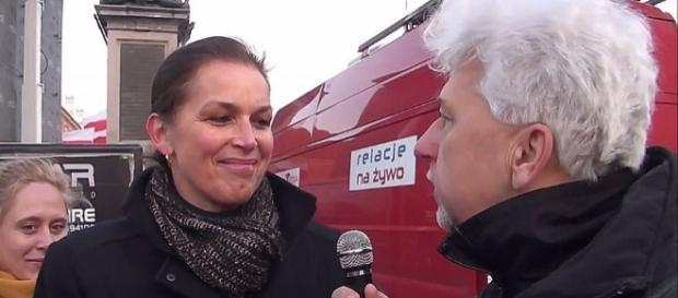 Tatjana Festerling w Warszawie, z wizytą przyjaźni