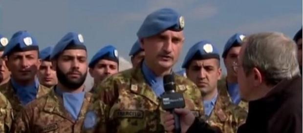 Uomini e mezzi italiani verso Mosul