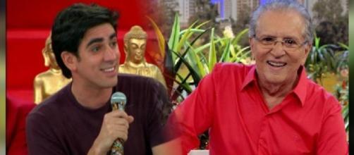 Carlos Alberto quer receber a visita de Adnet