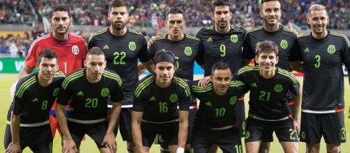 Equipo titular de la selección contra Senegal