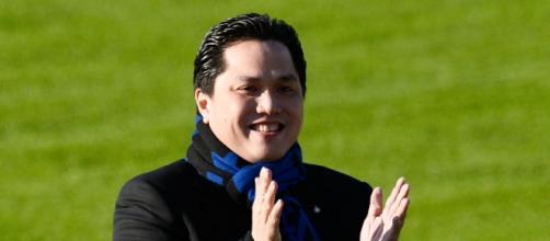 Erick Thohir, Presidente dell'Inter