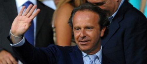 Il presidente della Fiorentina, Andrea Della Valle